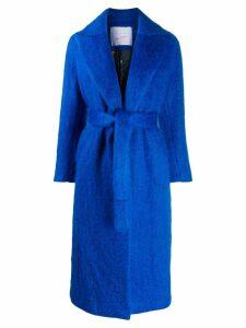 Giada Benincasa mohair coat - Blue