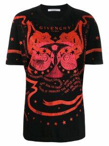 Givenchy Gemini printed T-shirt - Black