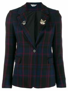 LIU JO classic embellished blazer - Blue