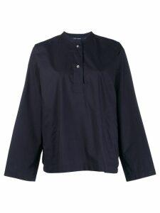 Sofie D'hoore oversized henley shirt. - Blue