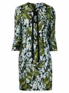 Blumarine floral-print dress - Green