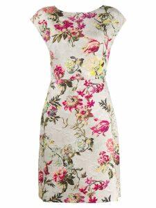 Etro floral print dress - NEUTRALS