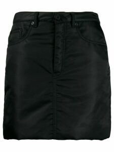 Mm6 Maison Margiela padded straight skirt - Black