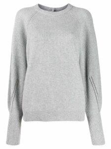 Brunello Cucinelli round neck jumper - Grey