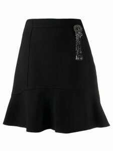 Pinko flared embellished skirt - Black