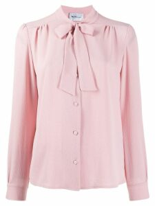 be blumarine pleated shirt - Pink