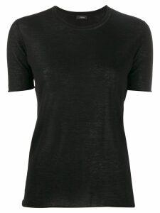 Joseph knitted T-shirt - Black