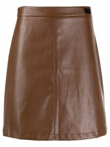 be blumarine a-line skirt - Brown
