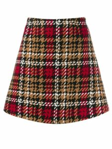 be blumarine tartan skirt - Red