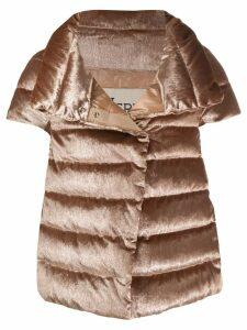 Herno sheen effect jacket - Gold