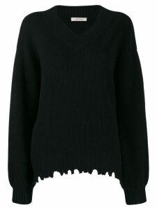 Dorothee Schumacher knitted wool jumper - Black