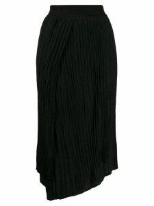 Vince pleated midi skirt - Black