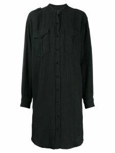 Isabel Marant Étoile long sleeve shirt dress - Black
