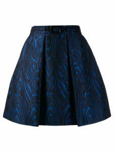 Kenzo full shaped mini skirt - Blue