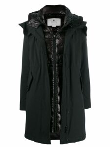 Woolrich Arctic layered parka coat - Black