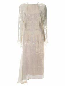 Alice Mccall Champers lamé dress - Gold