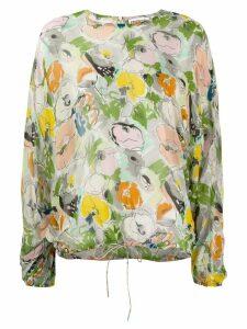 Essentiel Antwerp floral print blouse - Neutrals