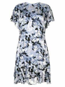 Elie Tahari Yonica devoré dress - Blue