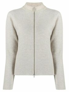 Fabiana Filippi zipped cardigan - Neutrals
