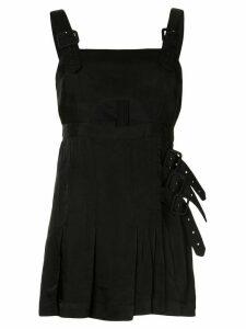 Alice Mccall Favour buckle-embellished dress - Black