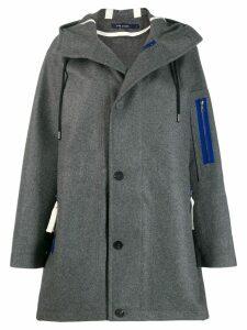 Sofie D'hoore buttoned duffle coat - Grey