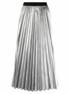 P.A.R.O.S.H. pleated skirt - SILVER