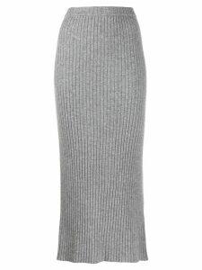 Allude midi tube skirt - Grey