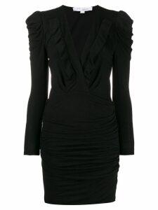 Iro v-neck jersey dress - Black