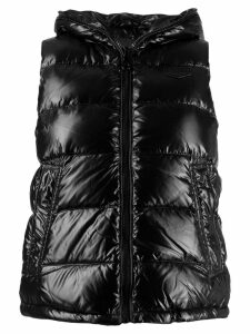 Duvetica hooded padded vest - Black
