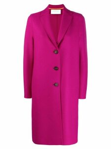 Harris Wharf London button up coat - Purple