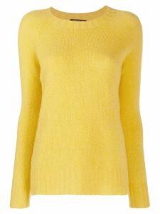 Aragona relaxed jumper - Yellow