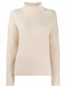 Tela turtleneck jumper - Neutrals