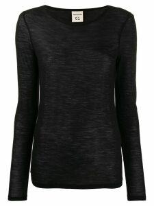 Semicouture lightweight sweatshirt - Black