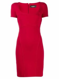 Dsquared2 decorative trim dress