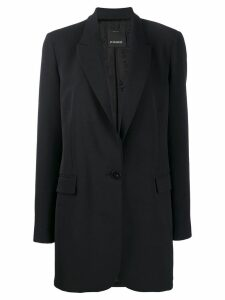Pinko single breasted coat - Black