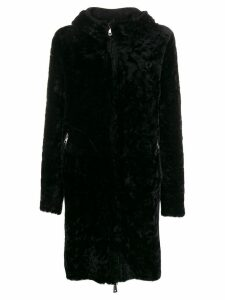 Giorgio Brato reversible shearling coat - Black