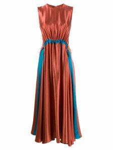 Roksanda Keeva midi dress - Orange
