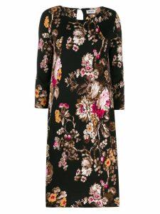 LIU JO floral print dress - Black