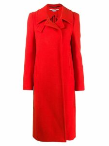 Stella McCartney single-breasted coat - Red