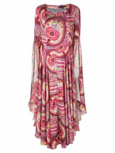Manish Arora psychedelic printed dress - Pink