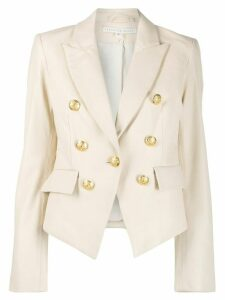 Veronica Beard double-breasted blazer - NEUTRALS