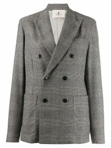 Barena oversized double-breasted blazer - Grey