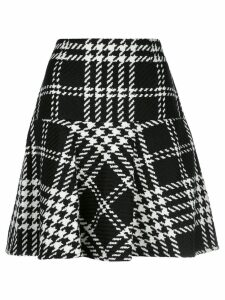 Paule Ka houndstooth skirt - Black