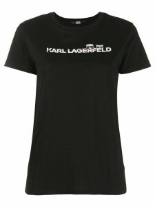 Karl Lagerfeld Ikonik logo T-shirt - Black