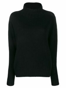 Aragona turtle neck jumper - Black