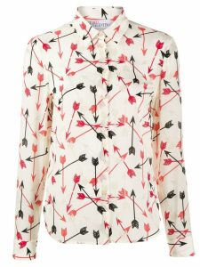 Red Valentino arrow print shirt - Neutrals