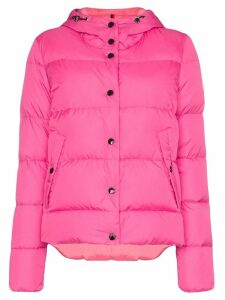 Moncler Lena quilted puffer jacket - Pink