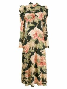 Zimmermann floral print maxi dress - Black