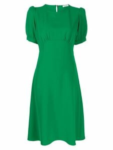 P.A.R.O.S.H. puffed sleeve dress - Green
