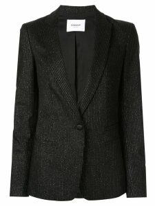 Dondup pin-striped blazer - Black